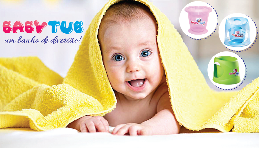 Baby Tub Ofurô Ouro - #BBT056