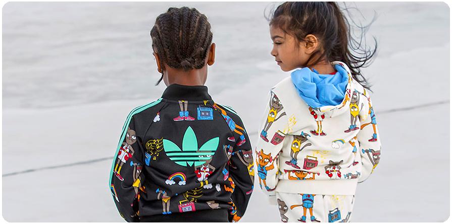 A criançada entra na onda do sportswear